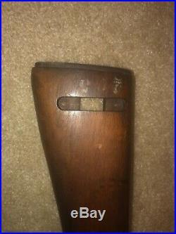 WW2 Korean War Late M1 Carbine Stock Winchester Type III RIA EB Arsenal Stamp