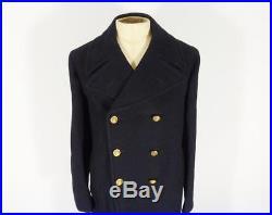 WW2 / Korean War Period British Royal Navy Petty Officers Greatcoat