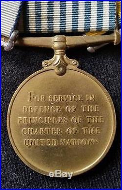 WW2 Korean War & Royal Navy LSGC Medals
