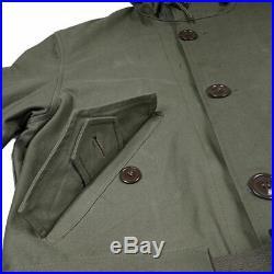 WW2 Korean War Us m47 Coat Parka Jacket m1947 Military Replica Include Belt