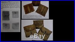 WW2 // Korean War era US M-1945 Backpack & Shovel & Belt & Canteen & More USED
