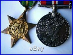WW2 Pacific 1939-45 Korea 1950 Canadian Forces & UN Korean War medals C Onifrey