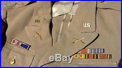 WW2 / Roswell UFO / Korean War / Summer Nevada National Guard Officer Uniform