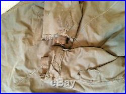 WW2 US army parka coat with USMC type cuffs liner good for early korean war
