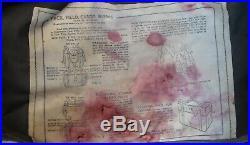WW2 to Korean War era US M-1945 Backpack & Shovel & Belt & Canteen & More USED