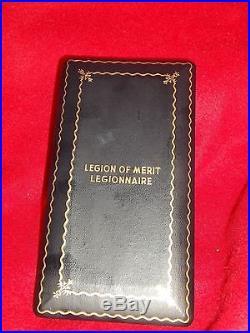 Wwii Korean War Rare 3 Army Legion Merit Medals Paper Work X 7 Rare