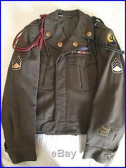 WWII / Korean War 1st Infantry & 103rd Infantry division Ike jacket