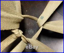 WWII Korean War 45th division MSA helmet liner