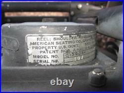 WWII Korean War Fighter Pilot Bomber Pilot Seat Chair P38 F82 F51 A26 B24