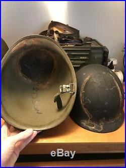 WWII/Korean War Helmet And Liner