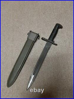 WWII / Korean War US Army M1 Garand Bayonet
