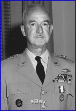 WWII Korean War US Army MAJOR GENERAL Vander Heide Uniform Jacket CIB RIBBONS