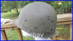 WWII/Korean War US M1 Helmet Liner Double Stamped Westinghouse Capac NICE