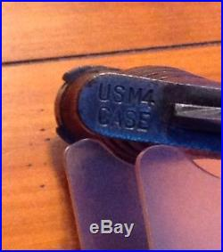 WWII Korean War US M4 CASE Bayonet Fighting Knife M1 Carbine US M8A1