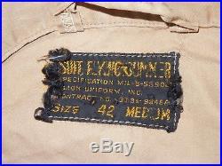 WWII Korean War USMC COLONEL Flight Suit Guadalcanal OPERATION VENGEANCE BSM