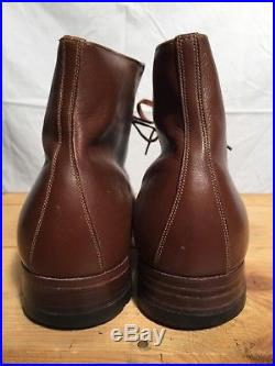 WWII / Korean War Women's USMC Army Air Corps WAC service Boots Leather Shoes