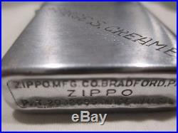 WWII Korean War Zippo lighter Named 25th Infantry Division 1950-54 Patent2032695