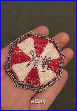WWII Korean war US Army 8th army occupation made patch