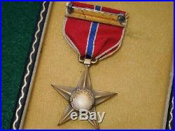 WWII US Army NAMED & ENGRAVED Bronze Star Medal PTO & Korean War Vet Photo