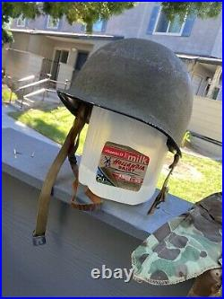 WWII WW2 Korean War USMC grouping Fixed Bale M1 Liner Cover