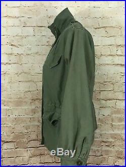 Women's M43 Field Jacket M1943 Dated June 1953 Size 14R Original Korean WAR