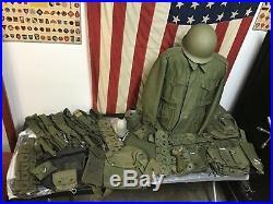 World War Two, Korean War, post Korea U. S. Army field gear with M51 USMC Jacket