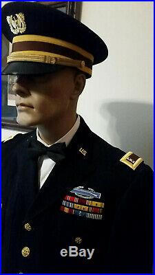 Ww II & Korean War Officer's Dress Blue Uniform Excellent Condition