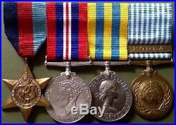 Ww2 & Korean War Group, Spr Sparke, Royal Engineers