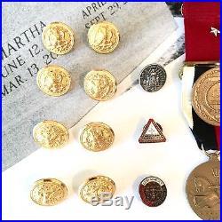 Ww2 Usn Good Conduct Medal Group Joe B. Akers American Victory Korean War Group