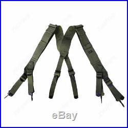 Wwii Korean War Us Army M1945 Combat Field Pack Suspenders Military Collectibles