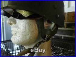 Wwii -korean War Era Named M1-c Paratrooper Westinghouse Helmet Liner Complete